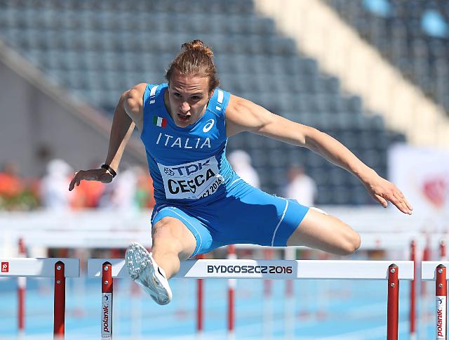 Nicola Cesca - Campionati Mondiali Juniores di Bydgoszcz, in Polonia - foto di Giancarlo Colombo/FIDAL