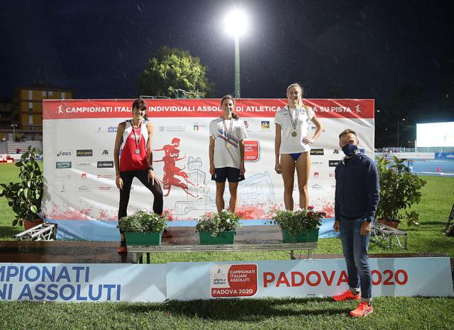 Eleonora Vandi sul podio